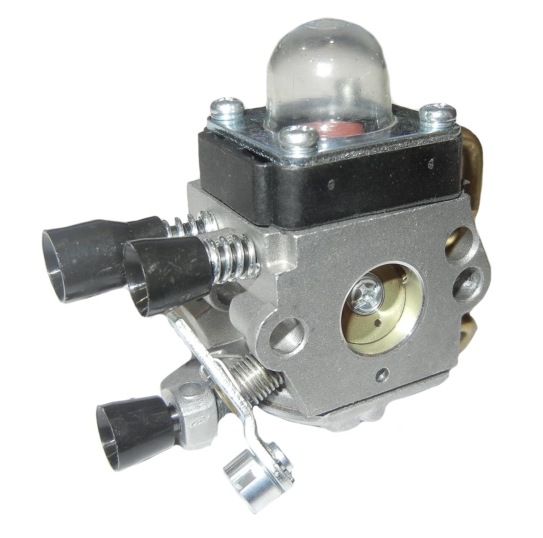 amazon com carburetor carb for stihl fs38 fs45 fs46 fs55 fs74 fs75 rh amazon com Stihl FS 45 Parts List Stihl FS 90 Replacement Parts