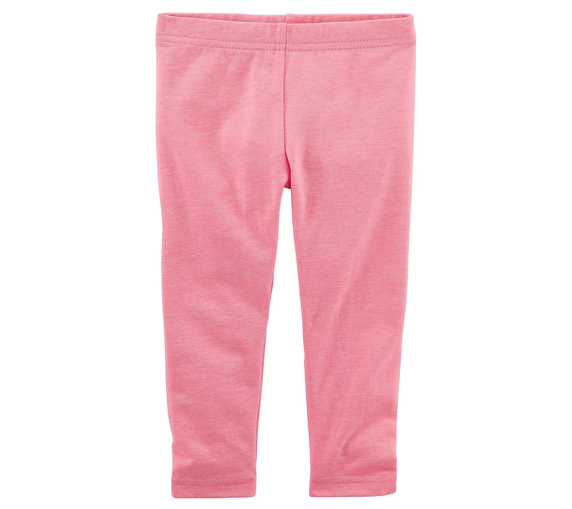 Carter's Girls' 2T-8 Capri Leggings Pink 4T