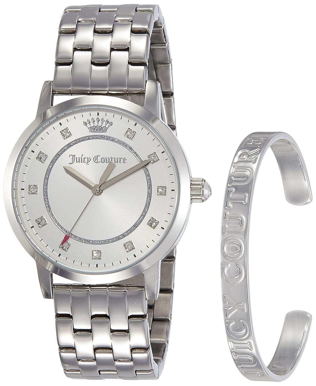 Juicy Couture Womans Socialite silbernes Armband und Geschenk-Set beobachten 1950010