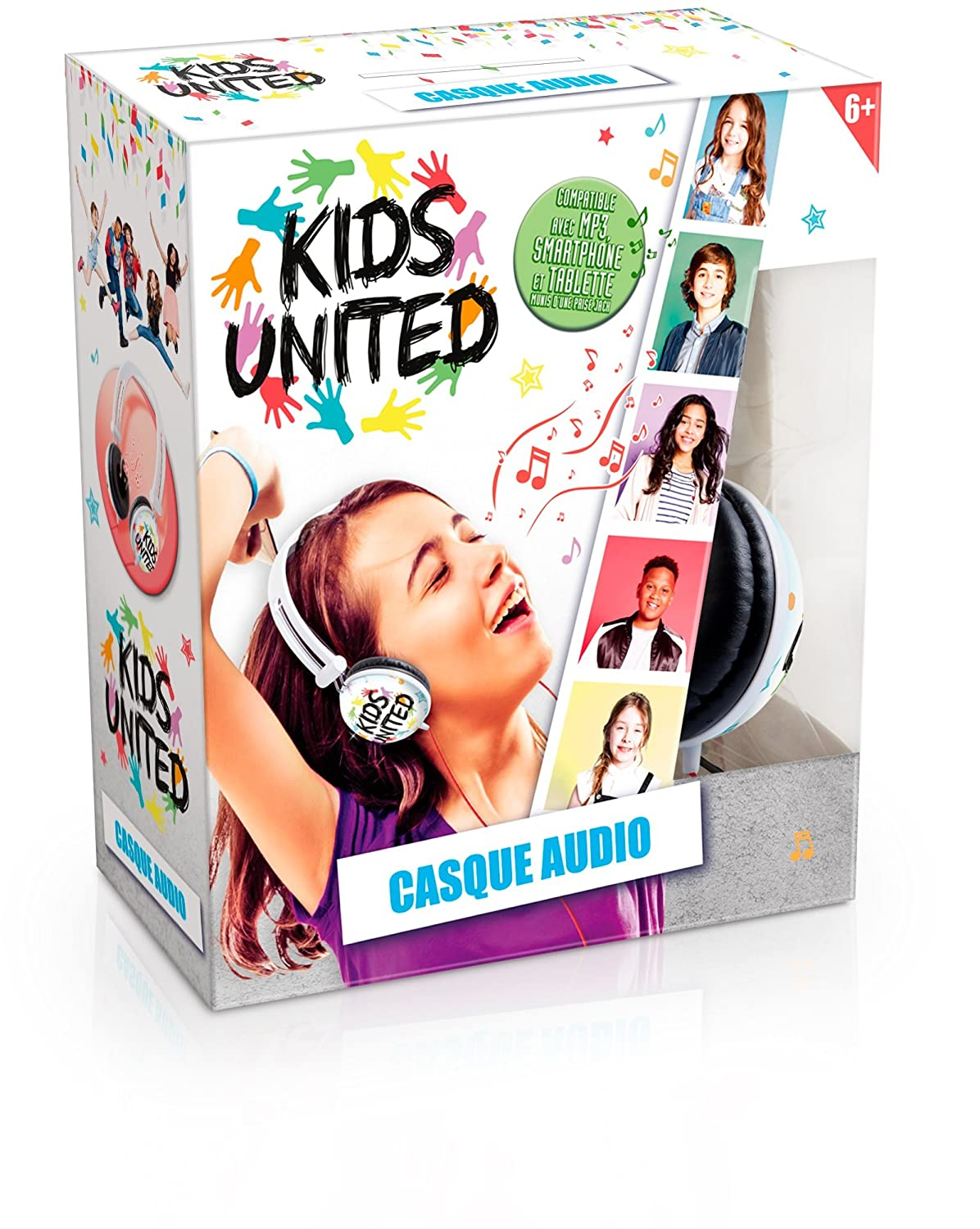 Canal Toys 1 x Electronique-Kids United-Casque Audio, CT07203
