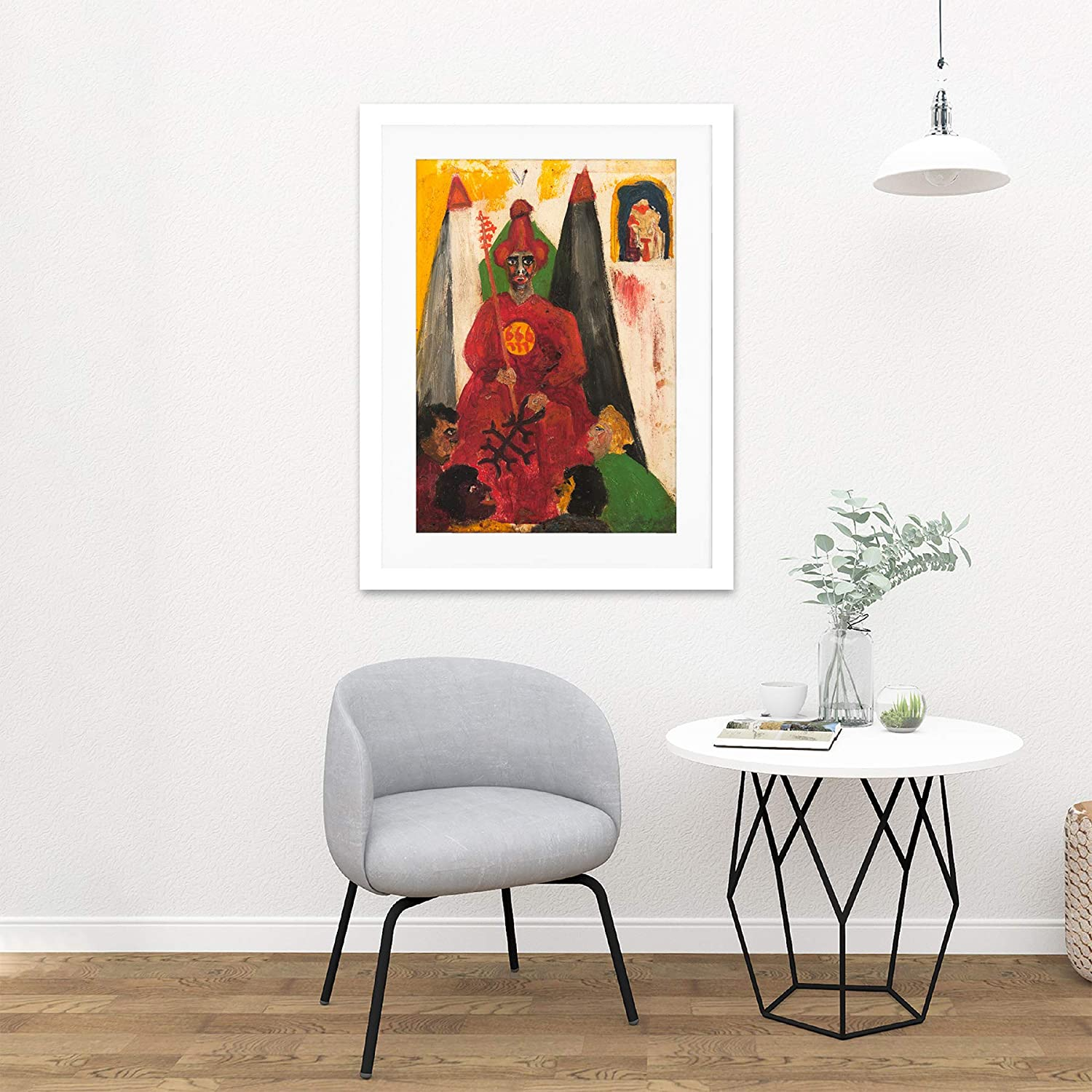 Crowley The Hierophant Large Wall Art Print