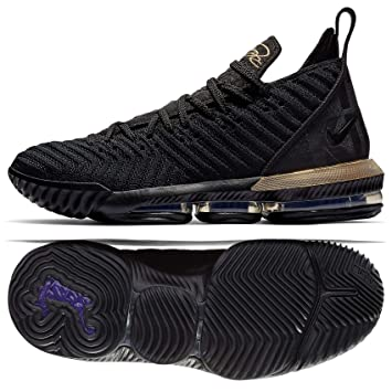 promo code 92795 b003c Nike Lebron 16 - Zapatillas de Baloncesto para Hombre, 12 D(M) US ...