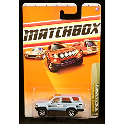 Matchbox Toyota 4RUNNER Outdoor Sportsman Series (#1 of 10) 2010 Basic Die-Cast Vehicle (#74 of 100): Toys & Games