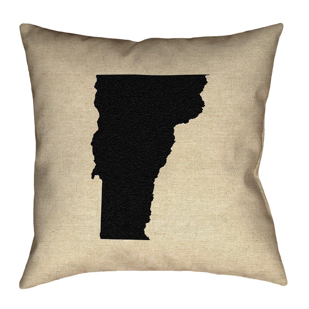ArtVerse Katelyn Smith 16 x 16 Spun Polyester Vermont Pillow
