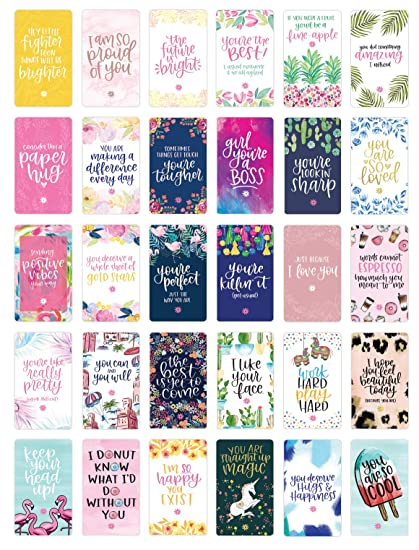 Amazon Bloom Daily Planners Encouragement Card Deck Cute Extraordinary Cute Inspirational Quotes