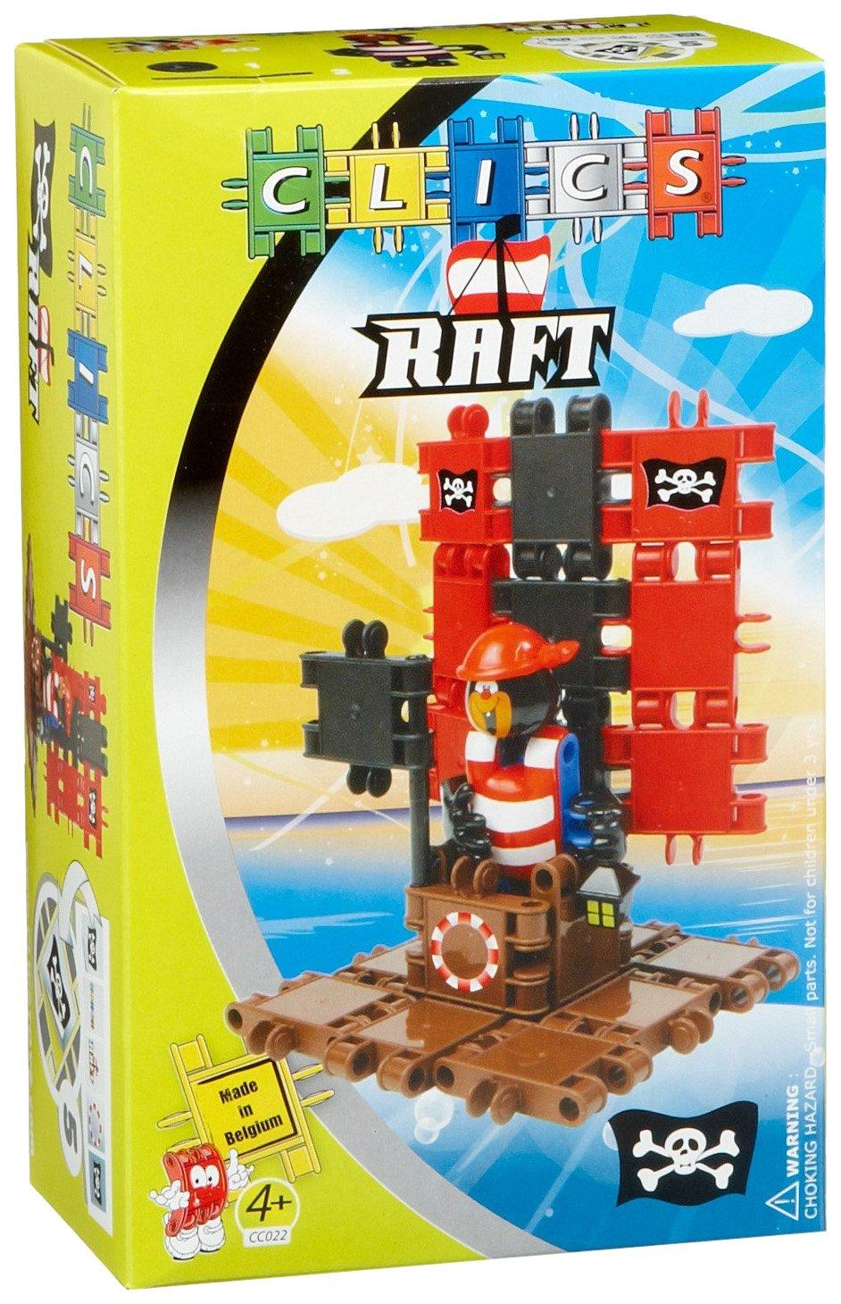 Clics CC022 - Pirat u Floß Combi Modell B003UES898 Bau- & Konstruktionsspielzeug Hohe Sicherheit | Große Auswahl
