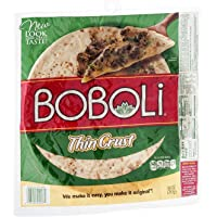 Boboli, Original Italian Thin Pizza Crust, 10oz Package (Pack of 3)