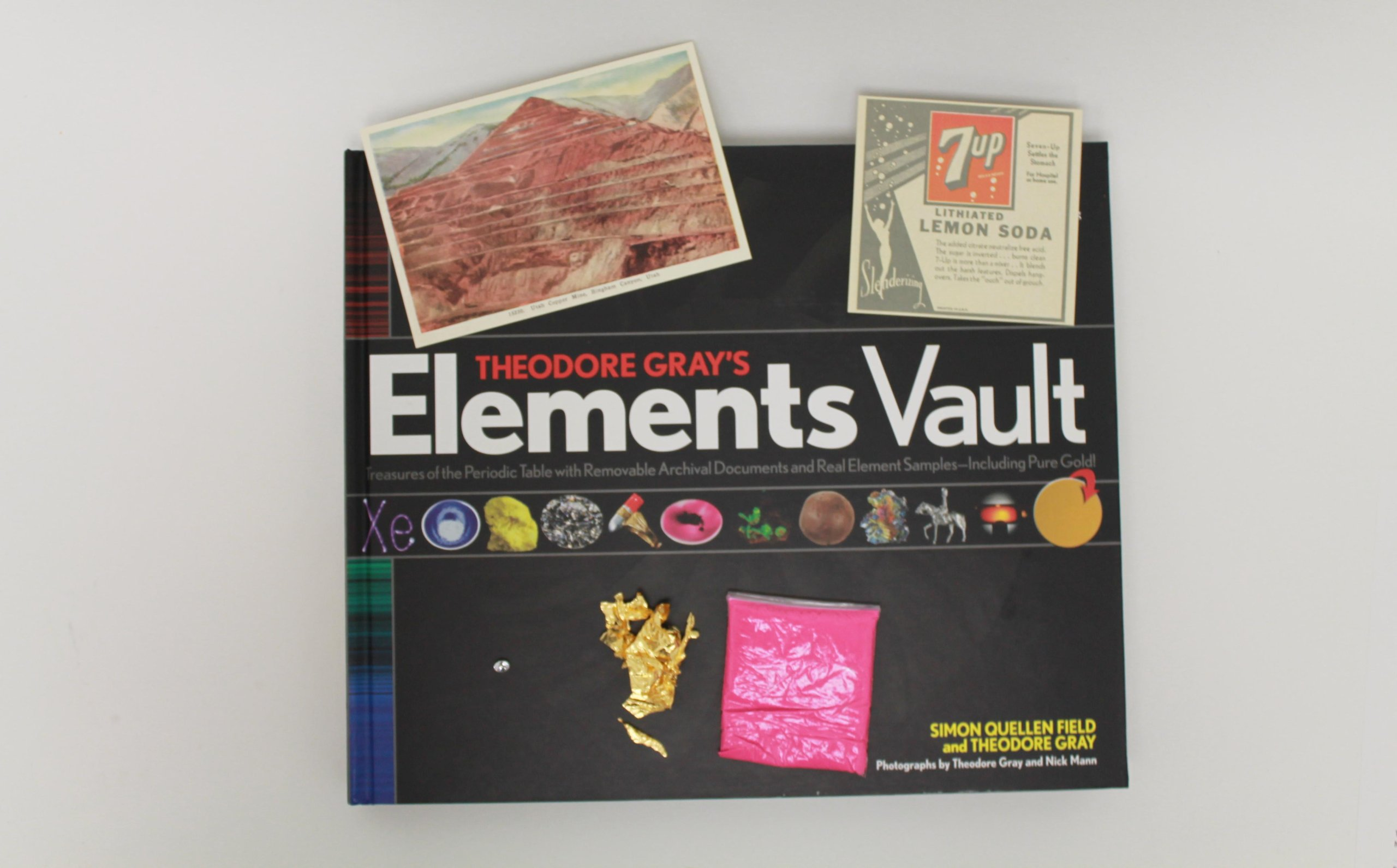 Theodore Grays Elements Vault Treasures Of The Periodic Table With