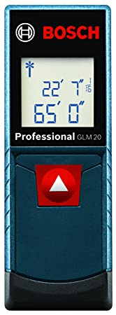Bosch GLM 20 - Easy to Use Laser Measure For Homeowners
