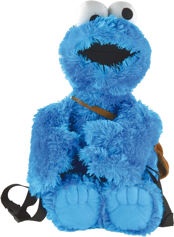 rue S/ésame 3D sac /à dos 58 cm Macaron monstre d/évoreur de biscuits