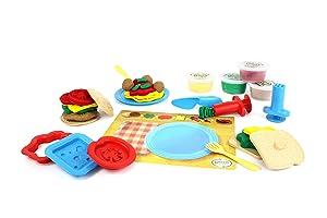 Green Toys Meal Maker Dough Set Activity