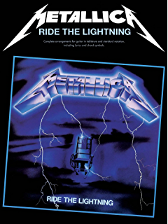 Amazon metallica ride the lightning songbook for drums metallica ride the lightning guitar tab guitar tab edition fandeluxe Images