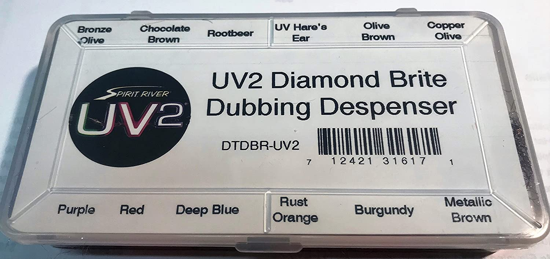 Fly Tying Spirit River UV2 Diamond Brite Dubbing Dispenser