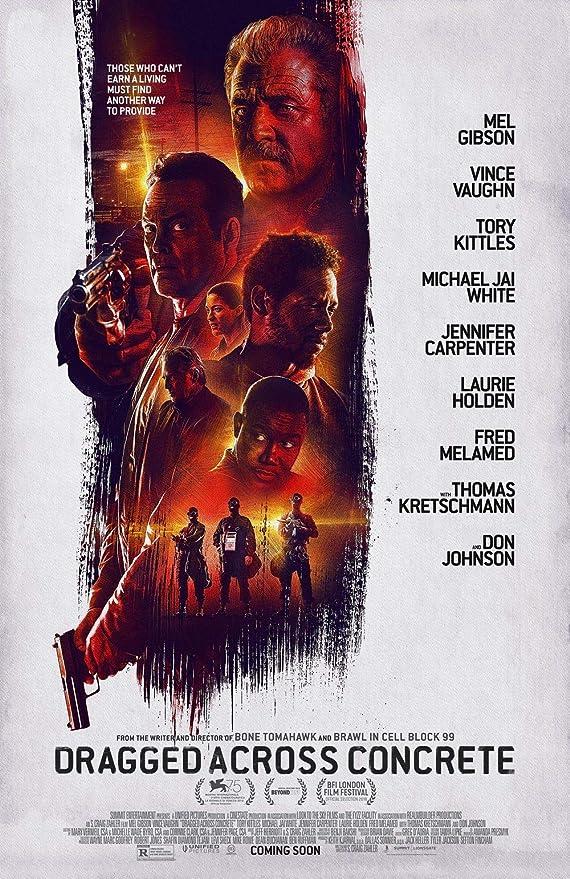 Lionbeen Dragged Across Concrete Movie Poster Cartel de la ...