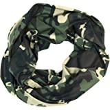 Camo Infinity Scarf (Classic Green Camouflage)