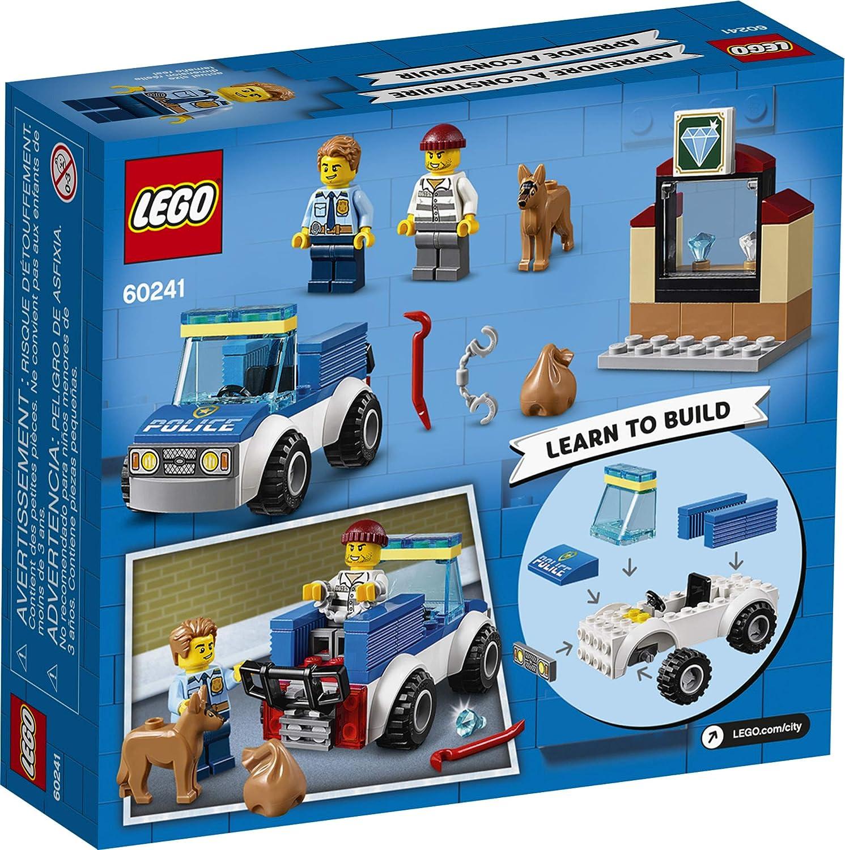 Lego City 60241 Great Vehicles Police Dog Unit New Building Kit
