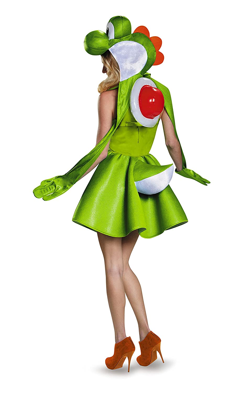 Womens Yoshi Skirt Fancy dress costume Large: Amazon.es: Juguetes ...