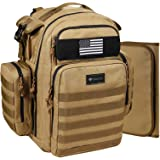 Dinictis Tactical Diaper Backpack for dad, Military Tactical Baby Gear, Large Baby Diaper Bags
