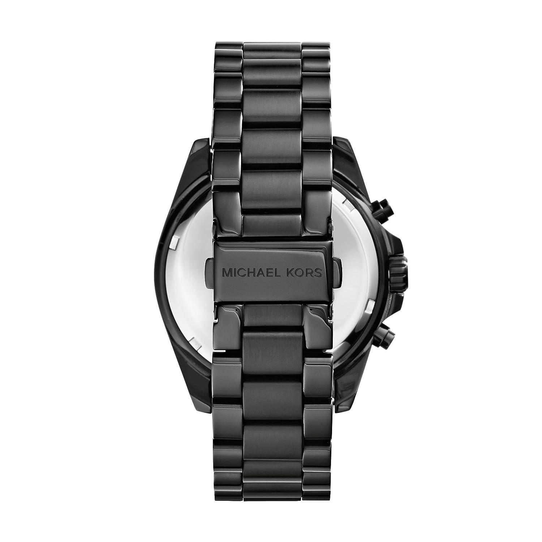 363a31011f89a Amazon.com  Michael Kors Men s Bradshaw Black Watch MK5550  Michael Kors   Watches
