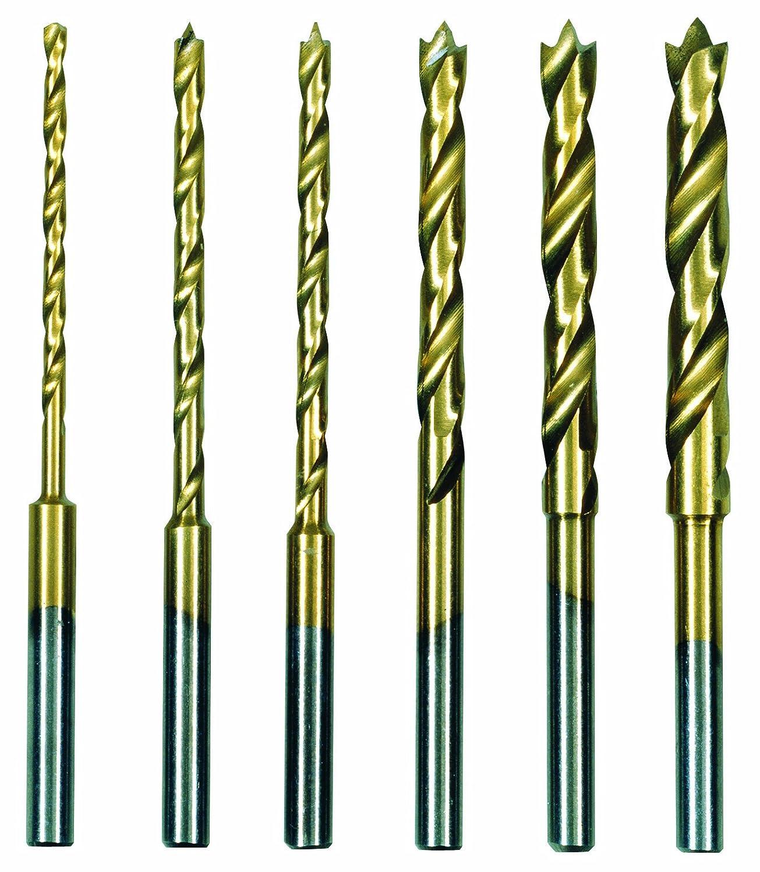 Proxxon 28876 HSS-Spiralbohrersatz mit Zentrierspitze 1,5 - 4,0 mm, 6 teilig PROXXON GmbH