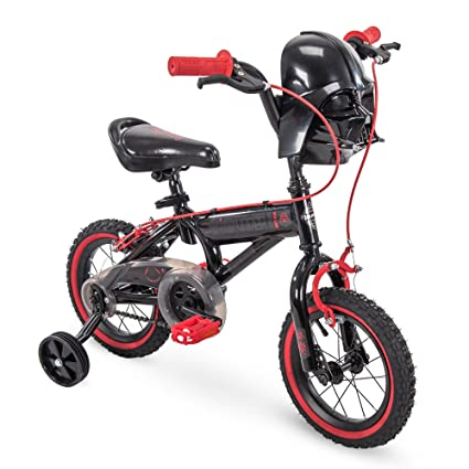 aa64a527c7233 Amazon.com   12in Star Wars Darth Vader Boys Bike by Huffy   Sports    Outdoors