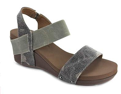 5ab34369775d Corkys Bandit Comfortable Wedge Sandals (8