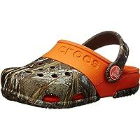 Crocs Electro II Realtree Max 5 Clog (Toddler/Little Kid),Chocolate/Orange,8 M US Toddler