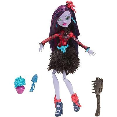 Monster High Gloom 'n Bloom Jane Boolittle Doll: Toys & Games