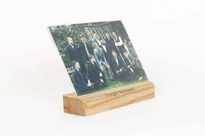 Foto Block Hochzeitsgeschenk Aus Holz Fotohalter Personalisierte