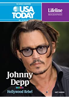Johnny Depp: Hollywood Rebel (USA Today Lifeline Biographies)