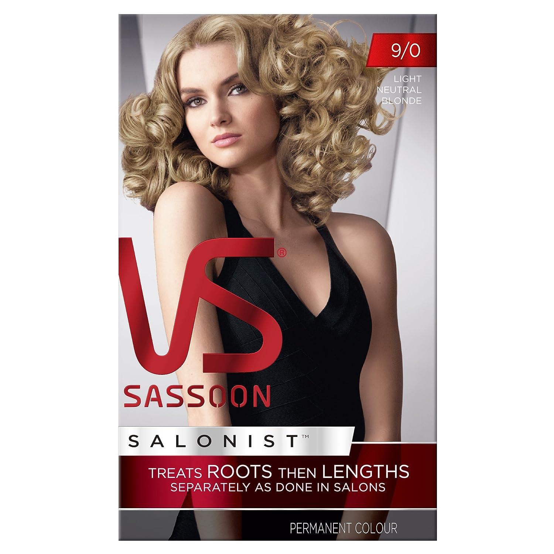 Vidal Sassoon Salonist 90 Light Neutral Blonde Permanent Hair
