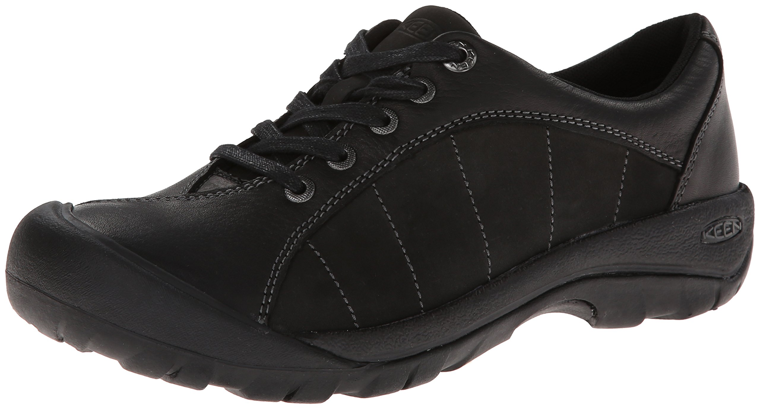 KEEN Women's Presidio Oxford,Black/Magnet,5.5 M US