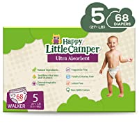 Happy Little Camper x Hilary Duff Ultra-Absorbent Hypoallergenic Natural Baby Diapers...