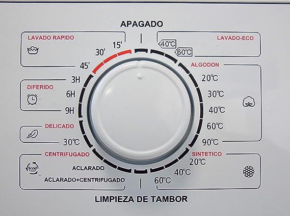 Scandomestic - Lavadora de carga frontal WAH1702-1200 RPM - Bajo ...