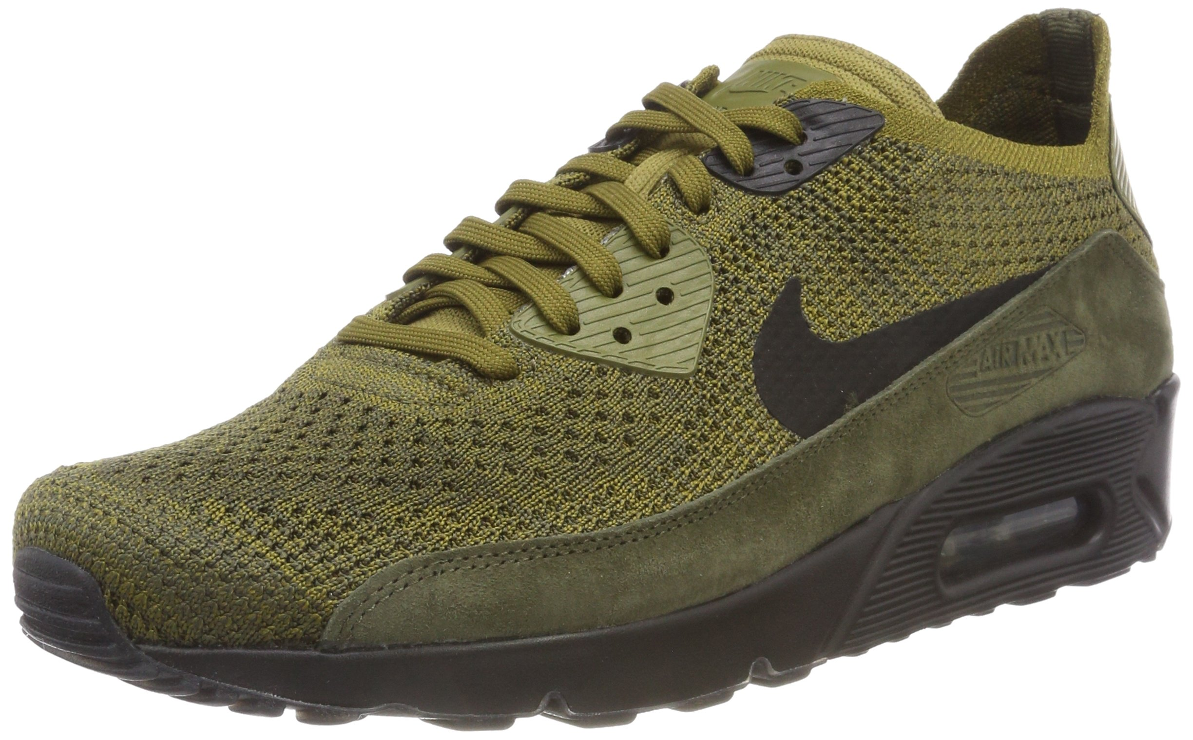 683456d20e Galleon - Nike Men's Air Max 90 Ultra 2.0 Flyknit Olive 875943-302 (Size: 9)