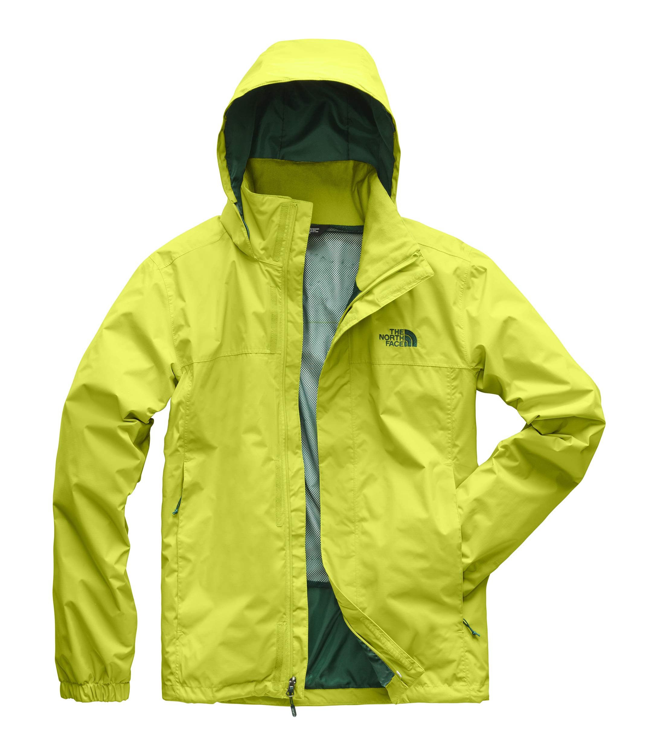 a634c5061 The North Face Men's Resolve 2 Jacket Lime Green/Botanical Garden Green  X-Large