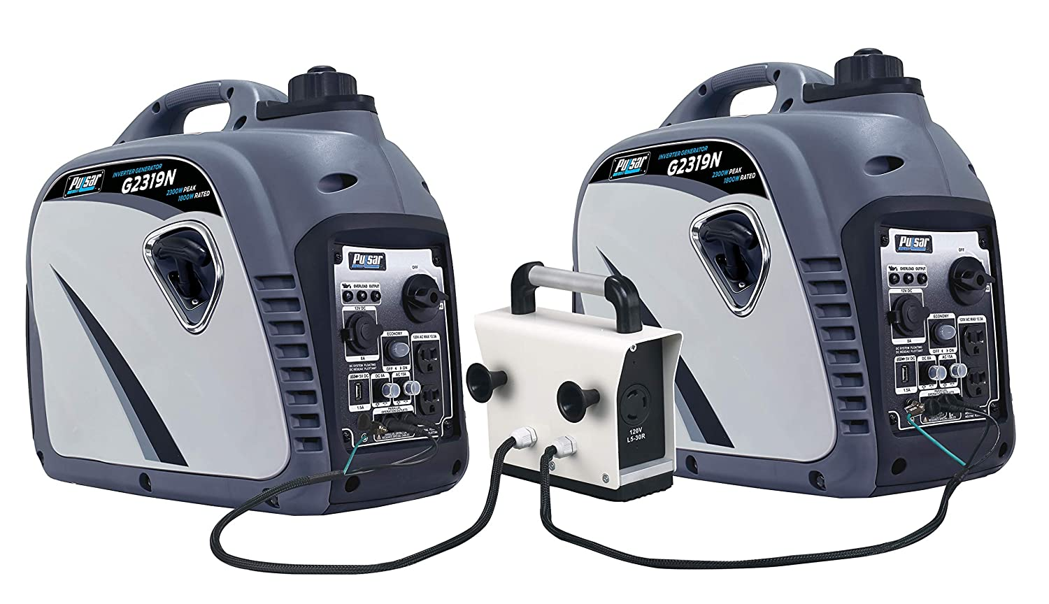 Pulsar PG2000iS portable inverter generators can be connected to each other