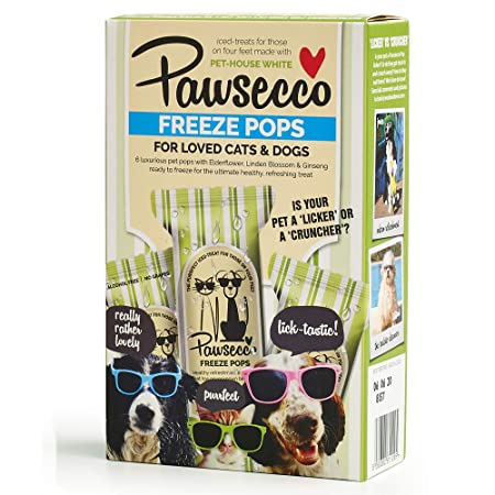 Woof & Brew Pawsecco Freeze Pops - Cat & Dog Treat (6 x 50ml) – Unique  treat or gift for Dogs and Cats all year round