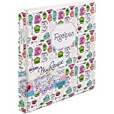 Avery My Recipe Binder, Extra Wide 1-Inch Slant Ring, Vintage Kitchen Design (19800)
