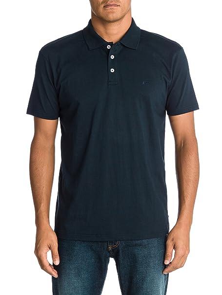 QUIKSILVER - Camisa con Cuello de Polo de Manga Corta para Hombre ...