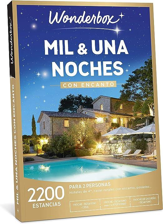 WONDERBOX Caja Regalo - MIL & UNA Noches con Encanto - una ...