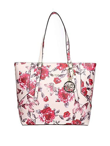 51328f74cd0a63 Guess Isabeau Carryall red roses: Amazon.co.uk: Shoes & Bags