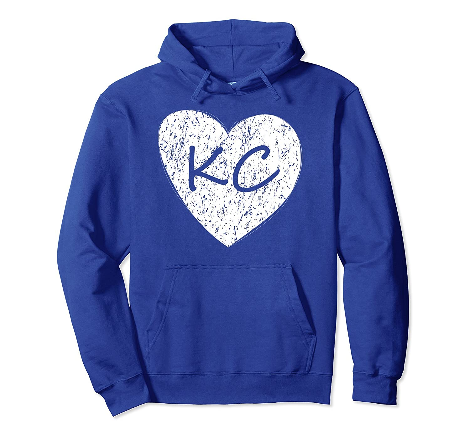 Kansas City Heart Shirt KC Pride Gift MO And KS Hoodie-Colonhue