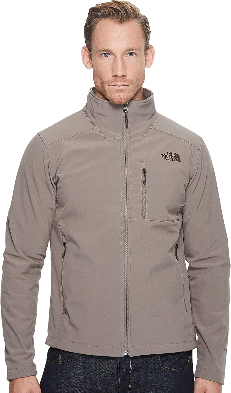 The North Face Apex Bionic Soft Shell Jacket – Men 's B01HS153Q4 Small|Falcon Brown/Falcon Brown Falcon Brown/Falcon Brown Small