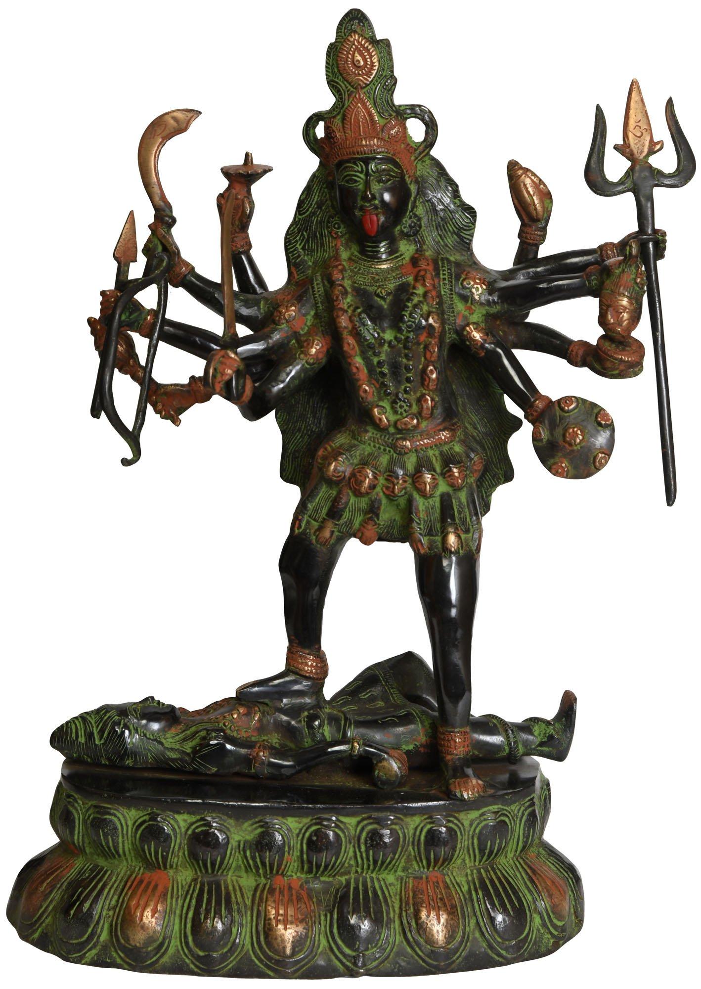 Kali - Brass Statue
