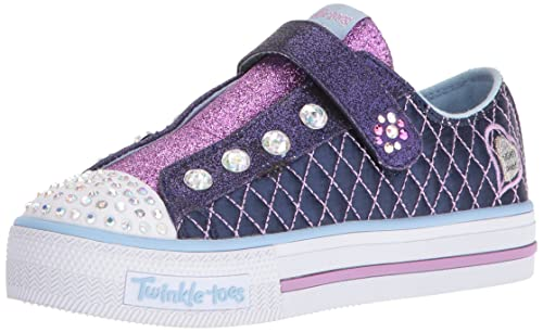 9f6d39d7653f Skechers Kids Twinkle Toes Sparkle Glitz Sneaker  Buy Online at Low Prices  in India - Amazon.in