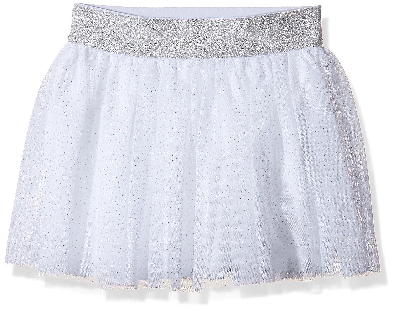 Petit Bateau Big Girl Glittery Silver Skirt