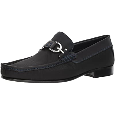 Donald J Pliner Men's Dacio-N Loafer, Black, 7 D US: Shoes