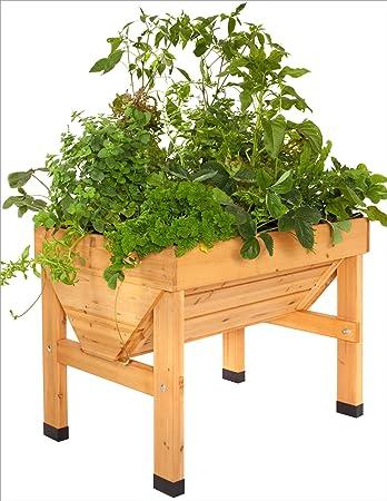 Dema Vegtrug Holz Hochbeet 75 Cm Amazon De Baumarkt