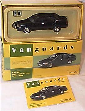 corgi vanguards negro serie 1 subaru legacy RS turbo coche 1.43 escala edición limitada modelo fundido